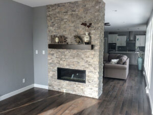 Fireplace from 2016 Parade of Homes