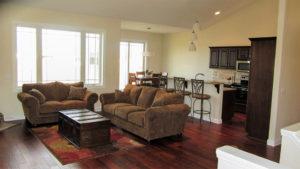 Living room - the Jefferson floor plan - 1835 sq ft