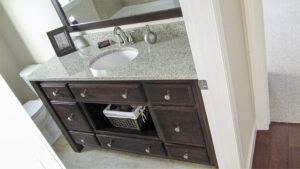 Bathroom vanity - the Jefferson floor plan - 1835 sq ft