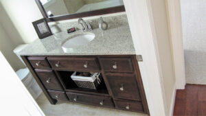 Bathroom vanity - the Jefferson floor plan - 1835 sq ft