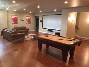 Basement from 2016 Parade of Homes