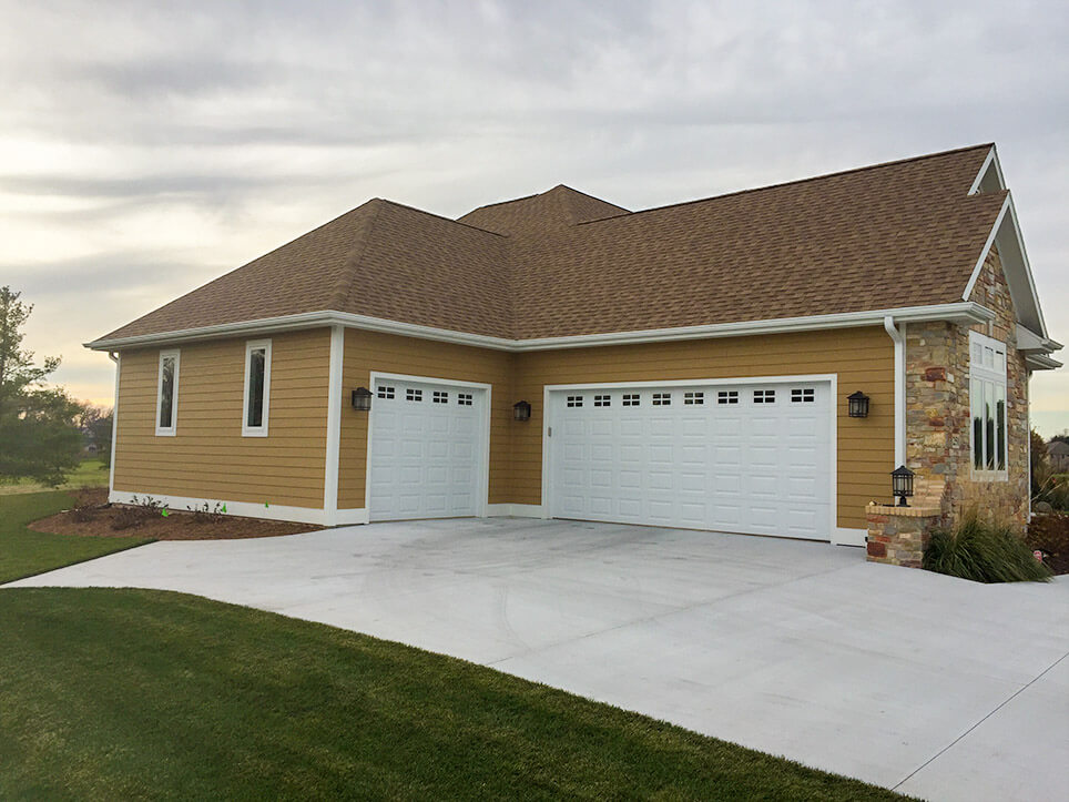 Exterior garage from 2016 Parade of Homes