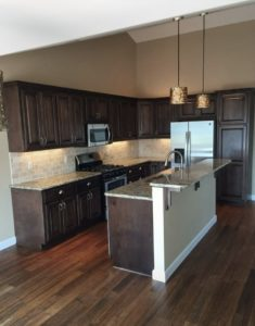 Kitchen from the Lincoln floor plan - 1891 sq ft