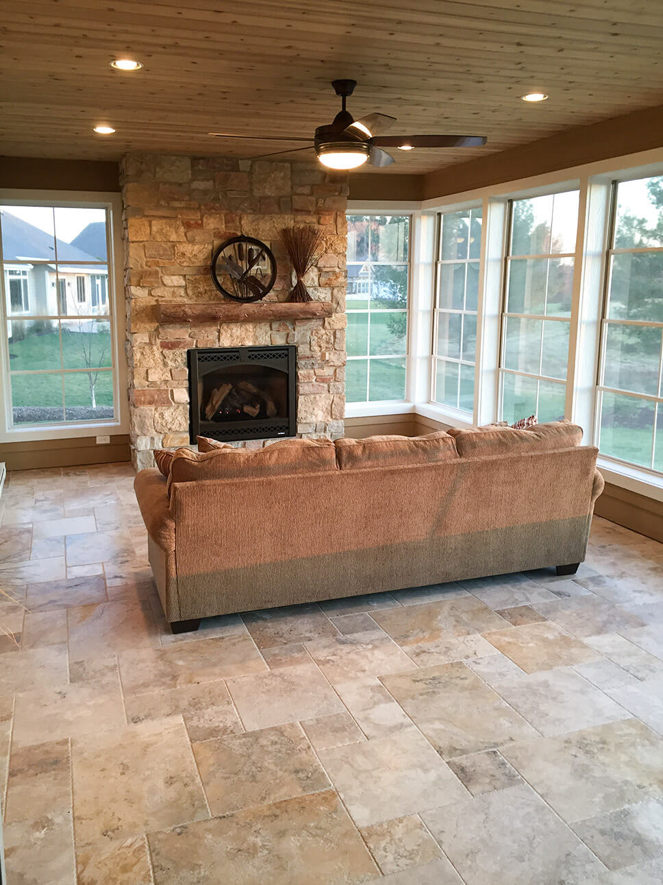 Three seasons room from 2015 Parade of Homes