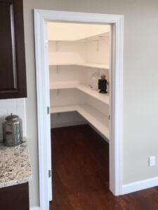 Walk in pantry from 2016 Parade of Homes