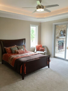 Master bedroom from 2015 Parade of Homes