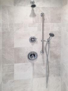 Master shower - Roosevelt floor plan - 1937 sq ft