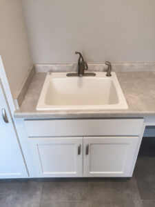 Laundry sink - the Roosevelt floor plan - 1937 sq ft