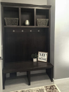 Back hall bench from 2016 Parade of Homes