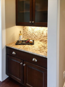 Butler pantry from 2015 Parade of Homes