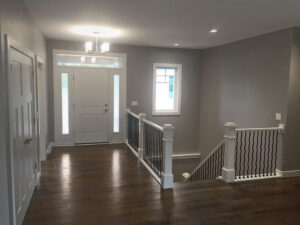 Entry and staircase from 2016 Parade of Homes