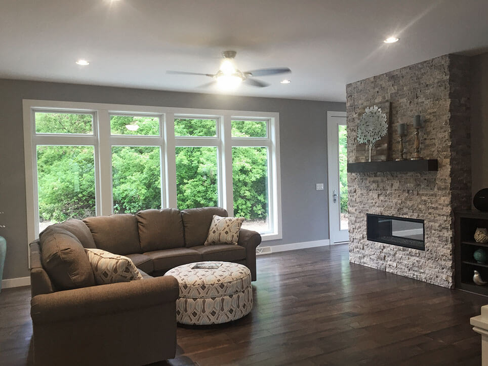 Living room from 2016 Parade of Homes
