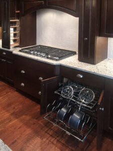 Custom kitchen cabinets from 2015 Parade of Homes