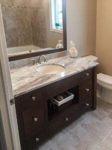 Custom vanity/granite from 2015 Parade of Homes