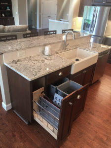Rollout garbage tray from 2015 Parade of Homes