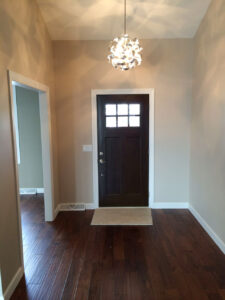 Entry way - the Adams floor plan - 2120sq ft