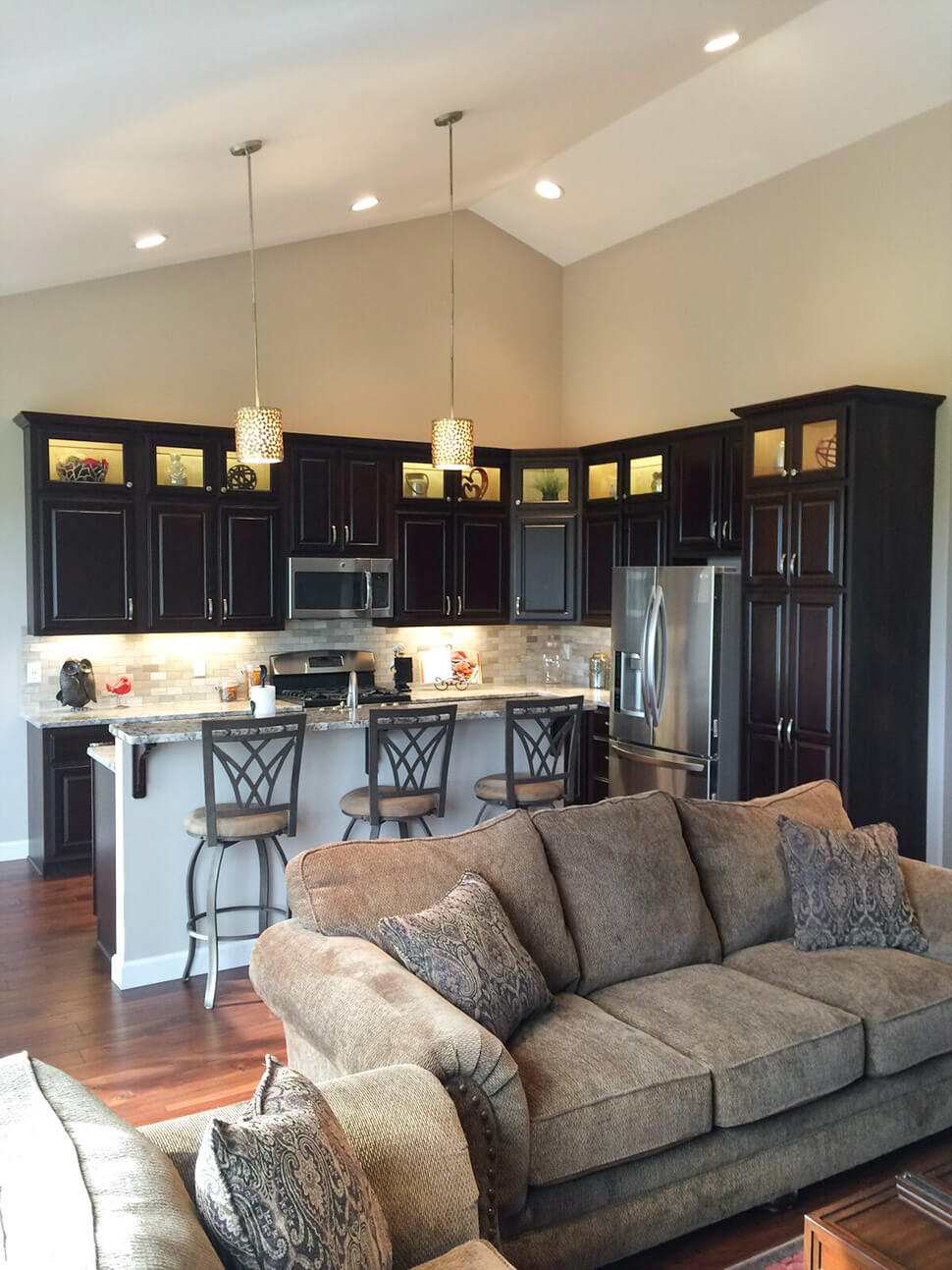 Kitchen - the Adams floor plan - 2120sq ft - 2015 Parade