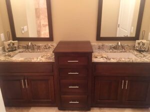 Master bathroom from 2015 Parade of Homes