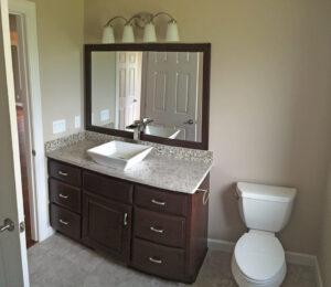 Guest Bath - the Adams floor plan - 2120sq ft - 2014 Parade of Homes