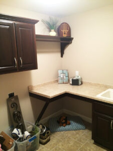 Laundry room - the Adams floor plan - 2120sq ft - 2014 Parade of Homes