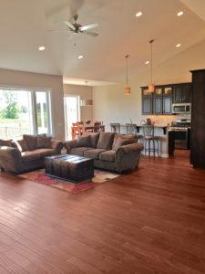 Living room - the Adams floor plan - 2120sq ft - 2014 Parade of Homes