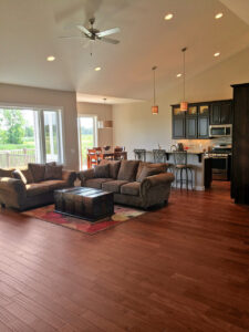 Living room - the Adams floor plan - 2120sq ft - 2014 Parade of Homes
