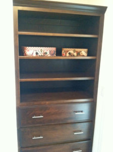 Shelf unit - the Jefferson floor plan - 1835 sq ft