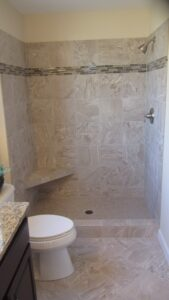Shower - the Jefferson floor plan - 1835 sq ft