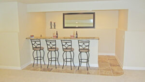 Rec room bar - the Jefferson floor plan - 1835 sq ft