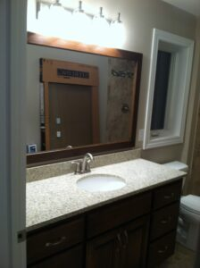 Guest bathroon - the Monroe floor plan - 1707 sq ft