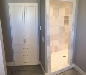 Custom cabinet and shower - the Roosevelt floor plan - 1937 sq ft