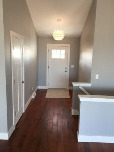 Entry way - the Roosevelt floor plan - 1937 sq ft