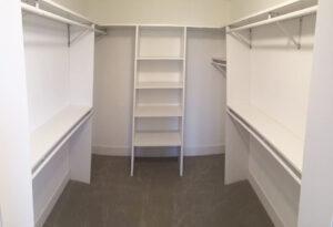 Walk in closet - the Roosevelt floor plan - 1937 Sq Ft