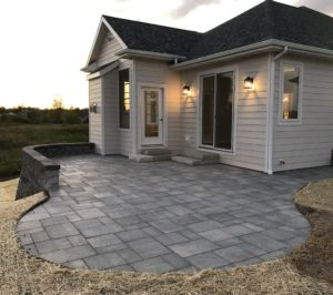 Back patio from 2017 Parade of Homes