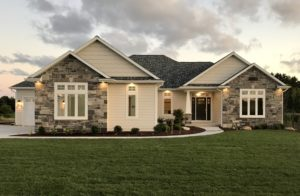 Front exterior - 2017 Parade of Homes