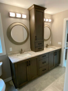 Master bathroom his and her vanity - 2020 Parade of Homes