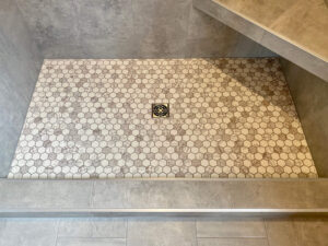 Master shower - 2020 Parade of Homes