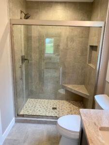Master shower - 2020 Parade of Homes