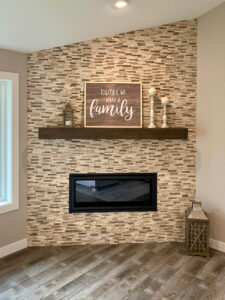 Fireplace - 2020 Parade of Homes