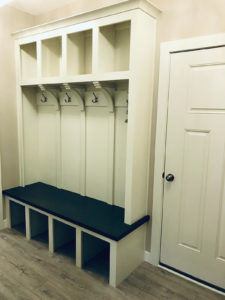 Back hall lockers - 2017 Parade of Homes