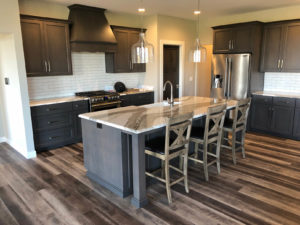 Custom maple kitchen cabinets - 2019 Spring Tour of Homes