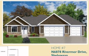 Front elevation rendering - 2019 Spring Tour of Homes