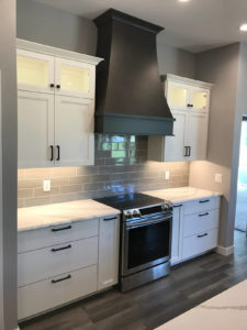Kitchen range wall - 2018 Spring Tour of Homes