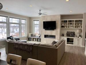 Living room - 2017 Parade of Homes