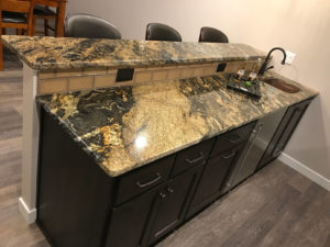Lower level bar tops - 2017 Parade of Homes