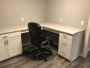 Lower level office - 2018 Spring Tour of Homes