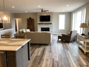 Luxury vinyl plank flooring - 2019 Spring Tour of Homes