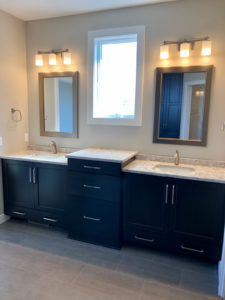 Master bathroom his and hers vanity - 2019 Spring Tour of Homes