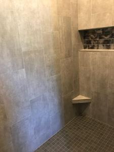 Master bathroom shower - 2018 Spring Tour of Homes