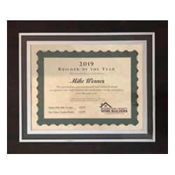 2019 Builder of the Year - Sheboygan County Home Builders Association